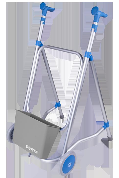 Andador de aluminio