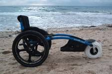 Silla de ruedas playa Hippocampe