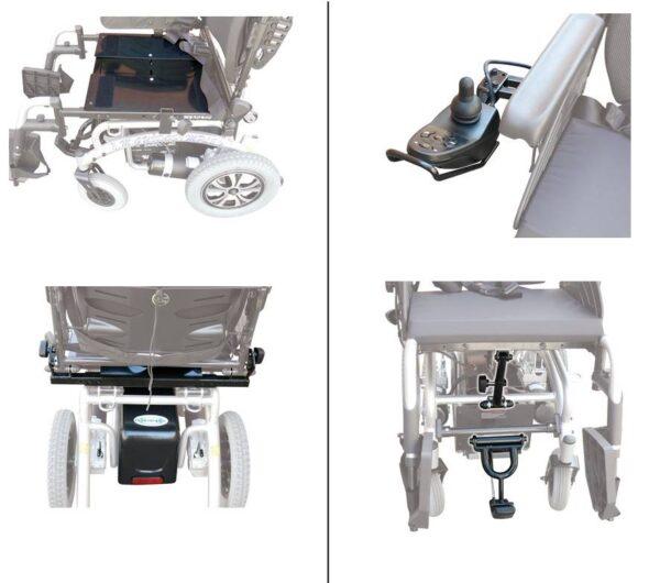 silla de ruedas eléctrica Mykonos II