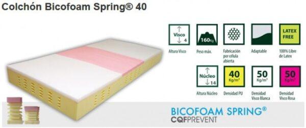 Colchón Sanitario Spring 40