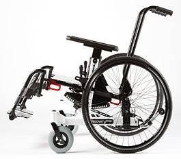 Silla de ruedas infantil Discovery Tmax