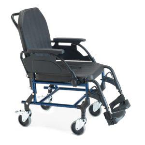 Silla de ruedas con asiento y respaldo anatomico BREEZY 3002A