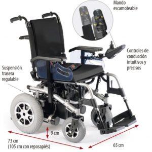 Silla de ruedas eléctrica R220/R200