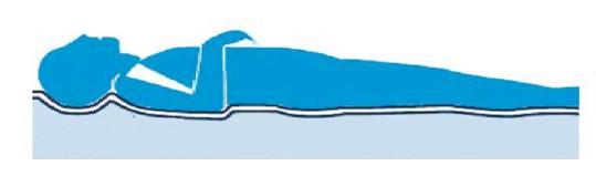 terapia de baja presión colchones antiescaras celdas de aire