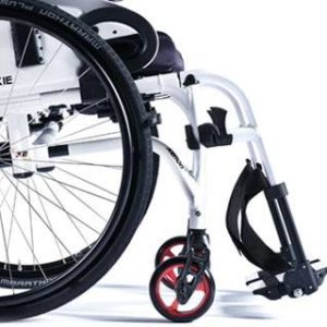 Silla de ruedas Quickie Xenon 2 Reposapiés desmontables