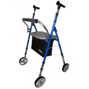 andador de interior con cuatro ruedas