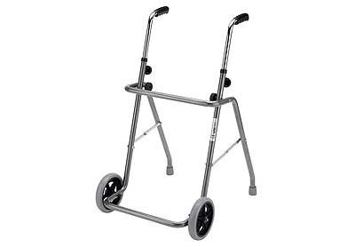 Andador plegable de acero