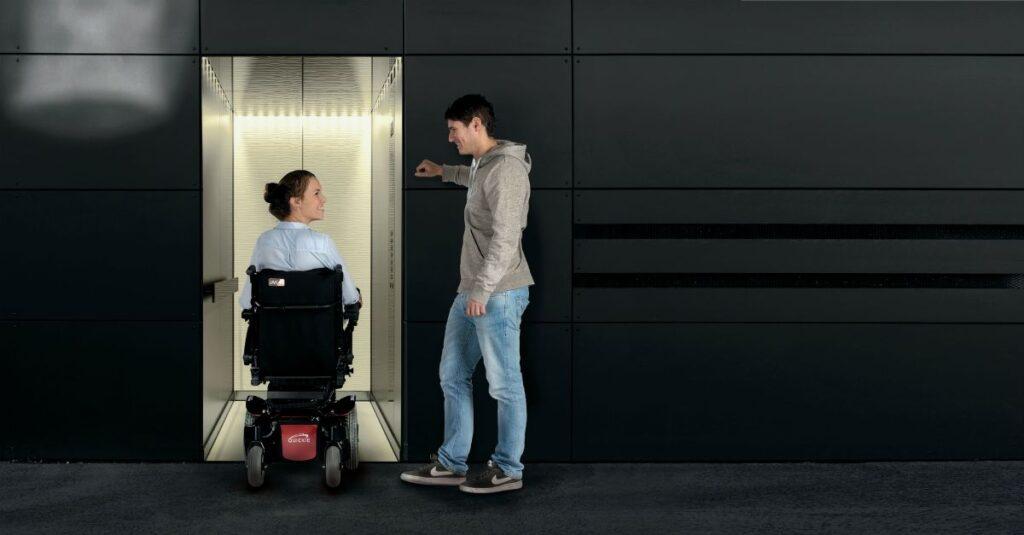 Dimensiones silla de ruedas electrica