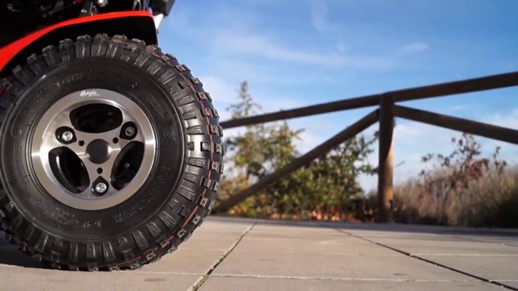 rueda de silla de ruedas electrica