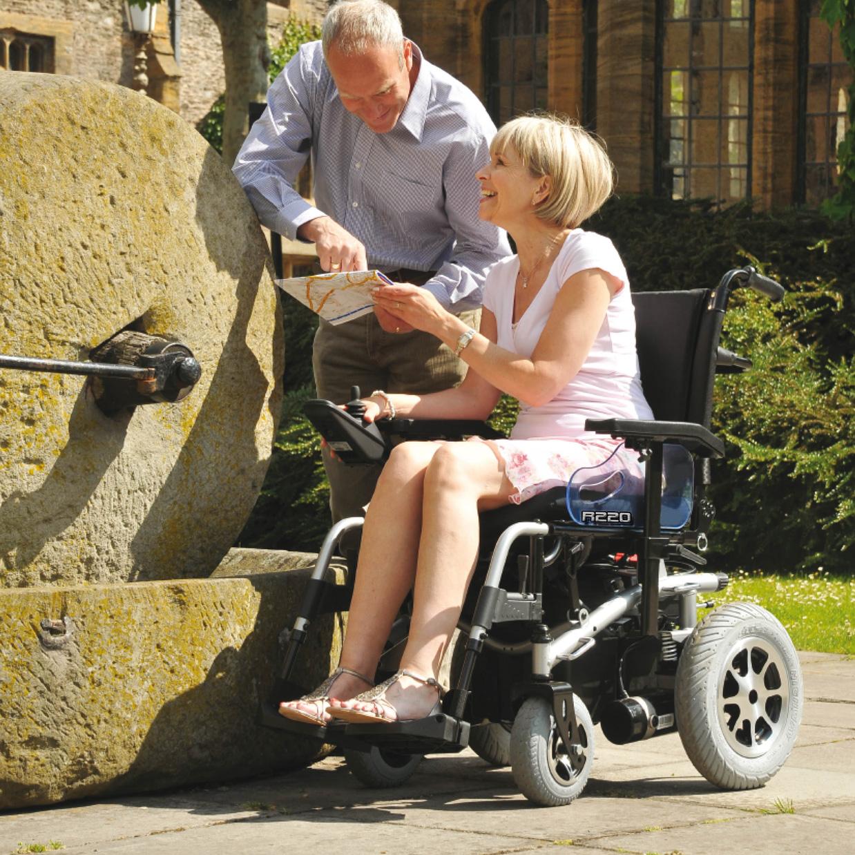 sillas de ruedas con motor