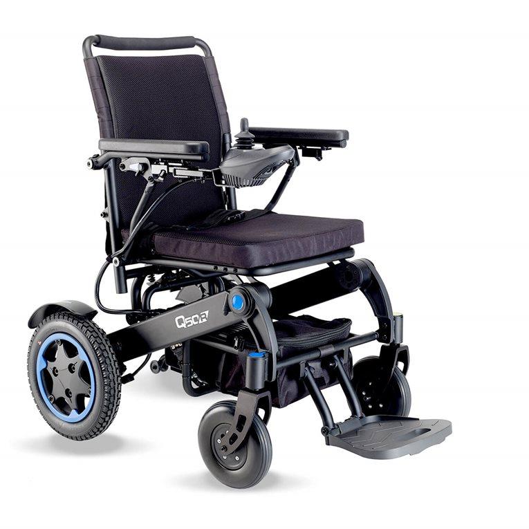 Silla de ruedas eléctrica plegable