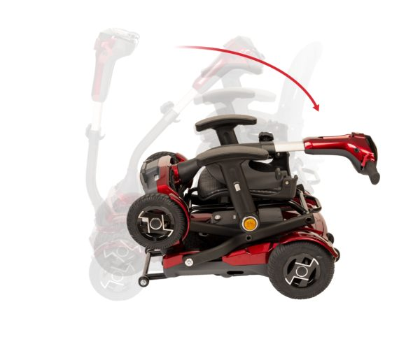 Scooter ligera plegable I-Laser