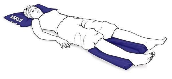 Cojín de posicionamiento mano / pie