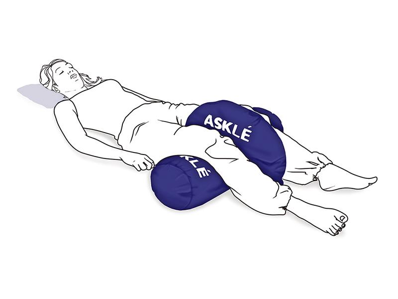 cojín postural de abduccion de piernas