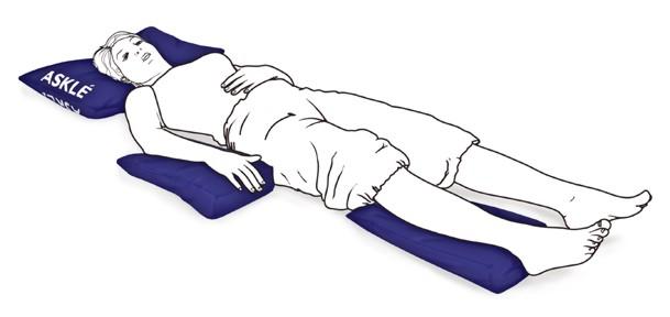 cojines posturales en cuña