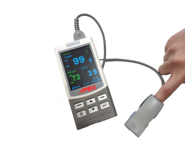 Pulsioxímetro de dedo Bippex Pro