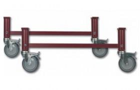 Arriostradas regulables en altura con ruedas