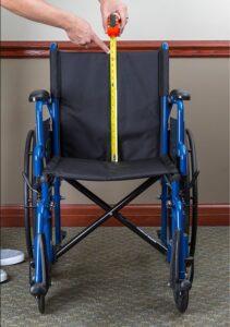 Altura respaldo silla de ruedas