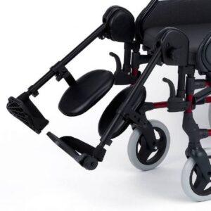 reposapies elevables silla de ruedas